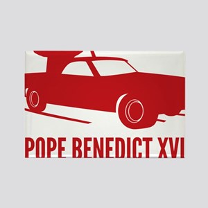 Pope Benedict Retirement Rectangle Magnet