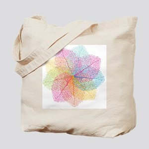 Abstract summer leaves Tote Bag