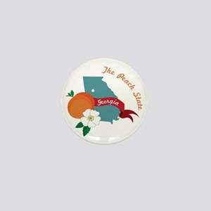 The Peach State Mini Button