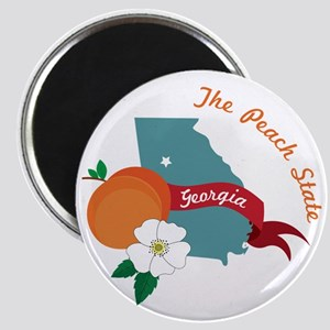 The Peach State Magnet