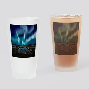 Aurora Borealis Drinking Glass