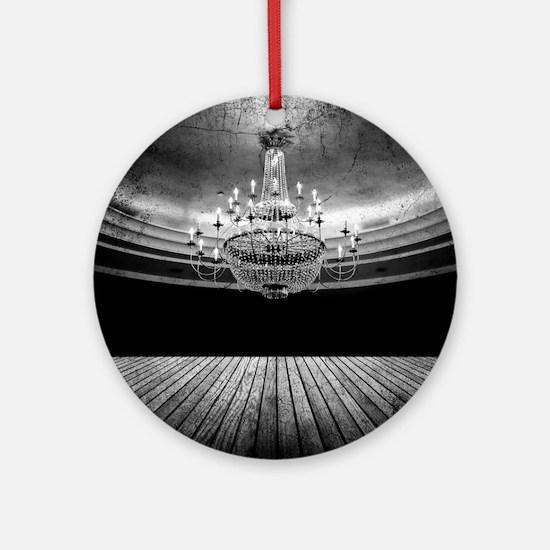 Grunge Ballroom Round Ornament