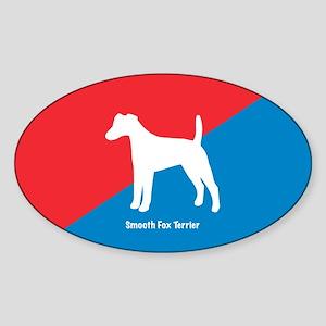 Terrier Oval Sticker