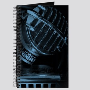 Blue Blues Harp and Microphone Journal