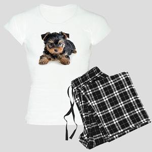 Yorkshire Terrier Puppy Women's Light Pajamas