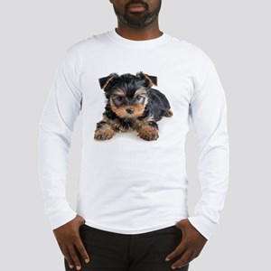 Yorkshire Terrier Puppy Long Sleeve T-Shirt