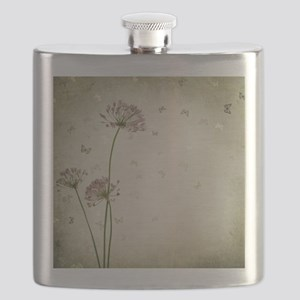 Vintage Floral Flask