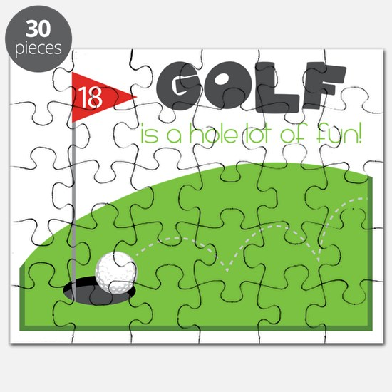 A HOLE Lot of Fun! Puzzle
