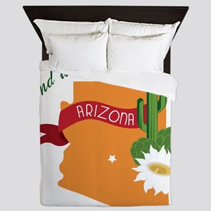 Stand With Arizona Queen Duvet