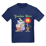 Garden Diva Kids Dark T-Shirt