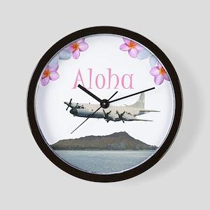 Hawaii P-3  Wall Clock