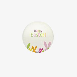 Easter Rabbits Mini Button