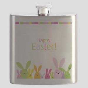 Easter Rabbits Flask