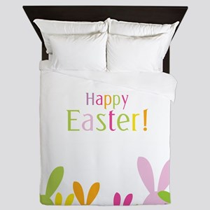 Easter Rabbits Queen Duvet