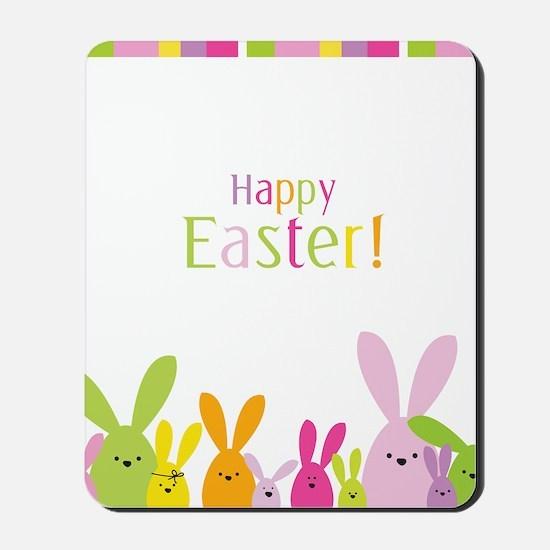 Easter Rabbits Mousepad