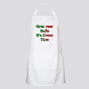 Grab your Balls. It's Bocce T BBQ Apron