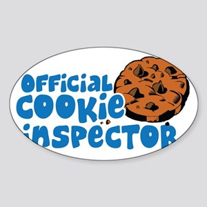 Official Cookie Inspector Sticker (Oval)