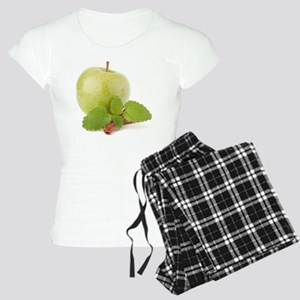 Green apple, cinnamon stick Women's Light Pajamas
