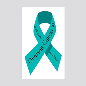 Ovarian cancer awareness Rectangle Sticker
