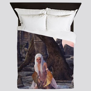 dl_shower_curtain Queen Duvet