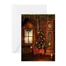 Old Christmas Greeting Cards (Pk of 10)
