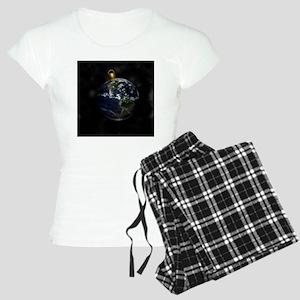 Peace On Earth 1 Women's Light Pajamas