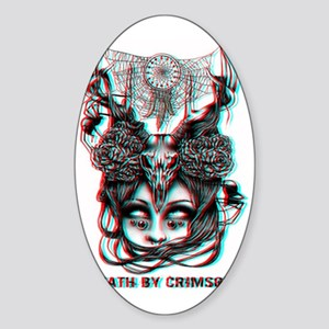 Anaglyph DBC Logo Sticker (Oval)