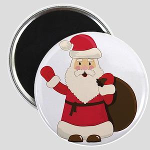 Santa Claus cartoon Magnet