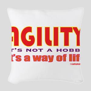 wayoflife Woven Throw Pillow