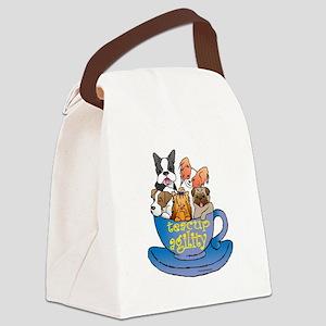teacup Canvas Lunch Bag
