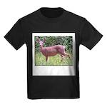 Doe in Grass Kids Dark T-Shirt