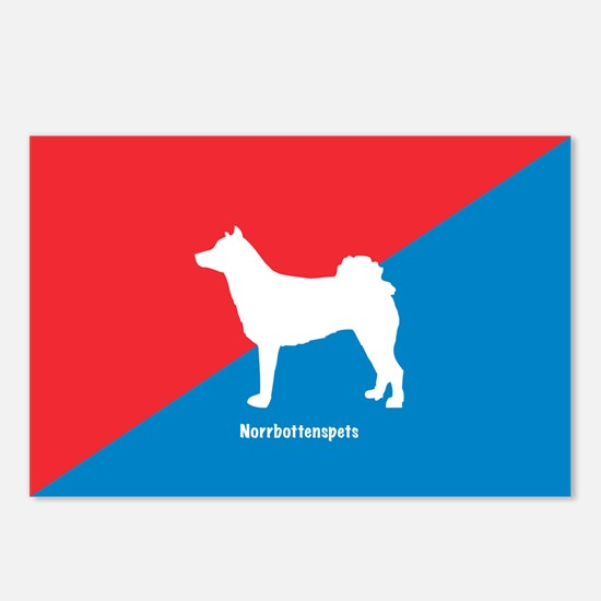 Norrbottenspets Postcards (Package of 8)