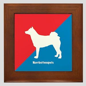 Norrbottenspets Framed Tile