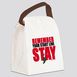 RememberSTAY copy Canvas Lunch Bag