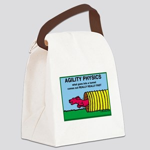 AgilityPhysics Canvas Lunch Bag