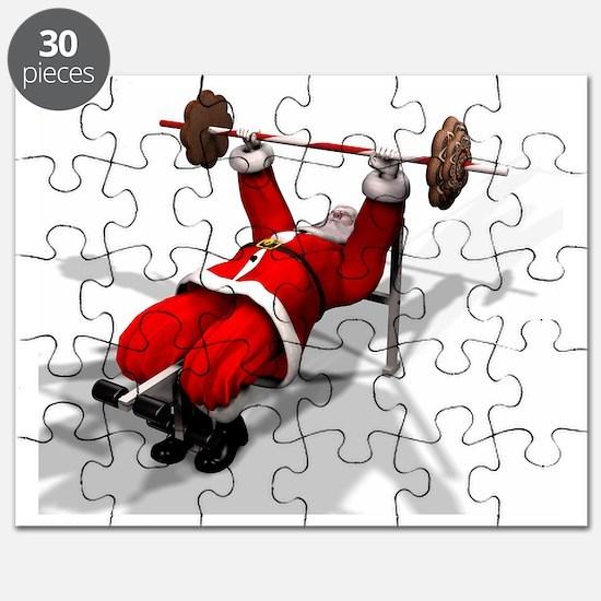 Santa Fitness Puzzle