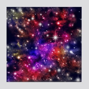 Star-field Tile Coaster