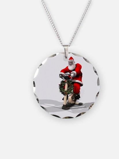 Santa Fitness 2 Necklace