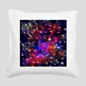 Star-field Square Canvas Pillow