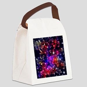Star-field Canvas Lunch Bag