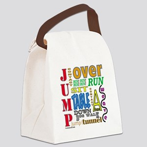 AgilityCommands Canvas Lunch Bag