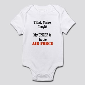 ThinkyouretoughmyUNCLEisaAIRFORCE Body Suit