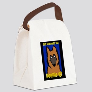 TervDQ Canvas Lunch Bag