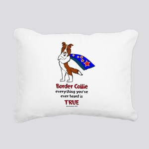 superBCredNEW Rectangular Canvas Pillow