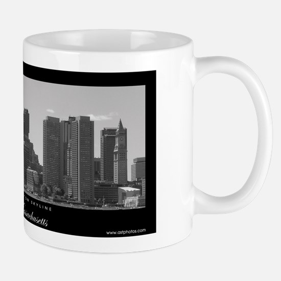 Downtown Boston Skyline - Mug