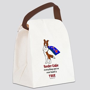 superBCredNEW Canvas Lunch Bag