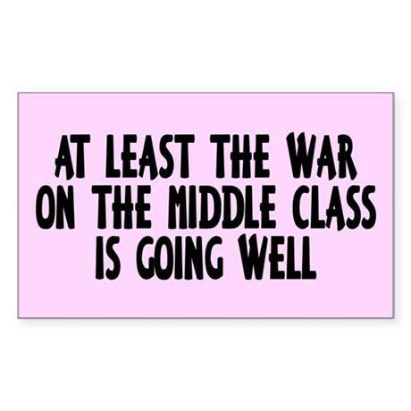 MIDDLE CLASS Rectangle Sticker