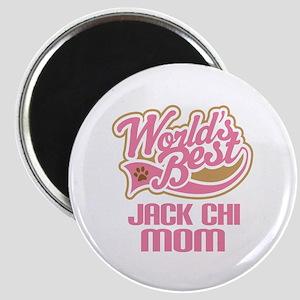 Jack Chi Dog Mom Magnet