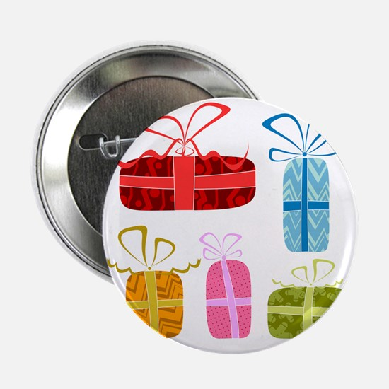 "vector cute gift boxes... 2.25"" Button"