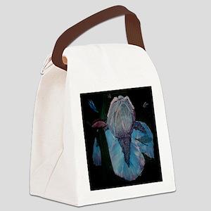 BlueMoonDrops_cafeZZ Canvas Lunch Bag